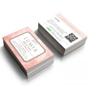 エステ脱毛のショップカード,エステショップカード印刷